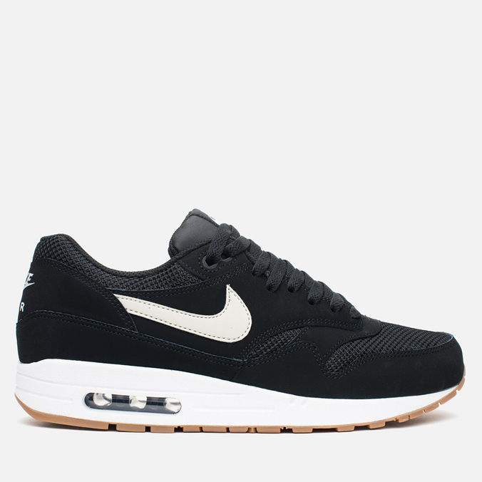 Мужские кроссовки Nike Air Max 1 Essential Black/White/Light Bone