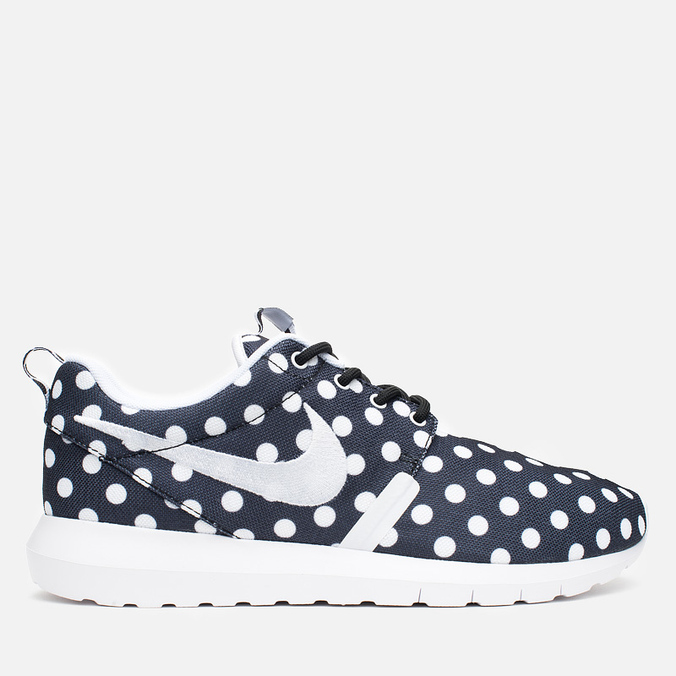 Мужские кроссовки Nike Roshe NM QS Polka Dot Black/White/Wolf Grey
