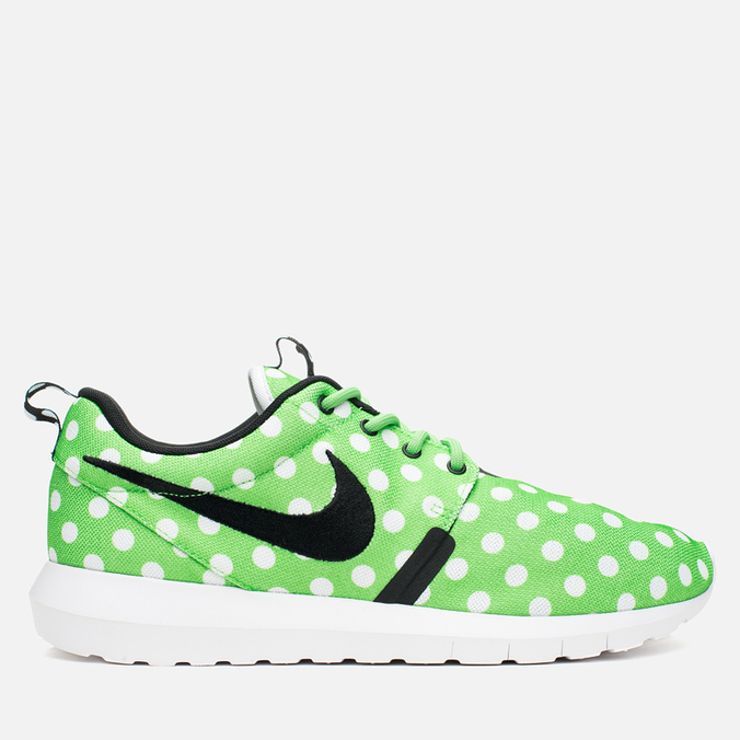 Мужские кроссовки Nike Roshe NM QS Polka Dot Green Strike/Black/White