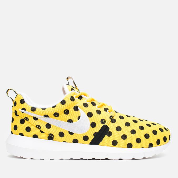 Nike Roshe NM QS Polka Dot Men's Sneakers Varsity Maize/White/Black