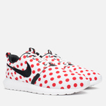 Мужские кроссовки Nike Roshe NM QS Polka Dot White/Black/Action Red фото- 1