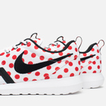 Мужские кроссовки Nike Roshe NM QS Polka Dot White/Black/Action Red фото- 7