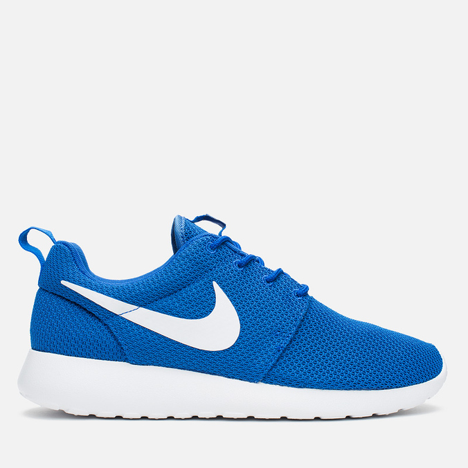 Мужские кроссовки Nike Roshe One Game Royal/White/Black