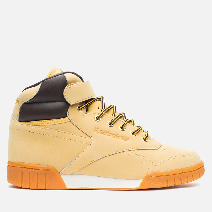 Мужские кроссовки Reebok Ex-O-Fit Plus Hi WP Wheat/Dark Brown
