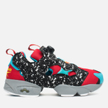 Мужские кроссовки Reebok Instapump Fury Splatter Pack Red/Black/Blue/Grey фото- 0