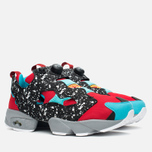Мужские кроссовки Reebok Instapump Fury Splatter Pack Red/Black/Blue/Grey фото- 1