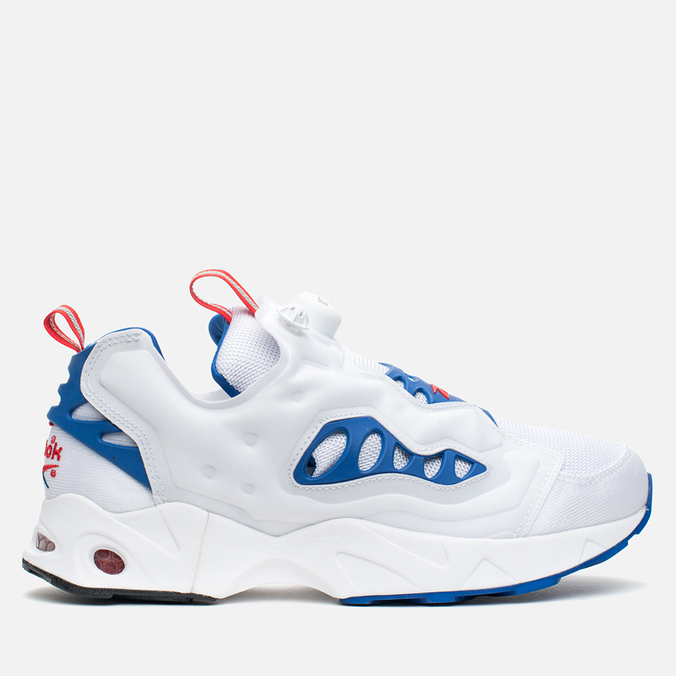 Мужские кроссовки Reebok Instapump Fury Road White/Royal/Red/Black