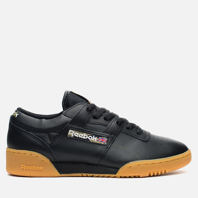 Мужские кроссовки Reebok Workout Low Clean Tiger Camo Black/White/Warm Olive