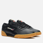 Мужские кроссовки Reebok Workout Low Clean Tiger Camo Black/White/Warm Olive фото- 1