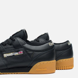 Мужские кроссовки Reebok Workout Low Clean Tiger Camo Black/White/Warm Olive фото- 5