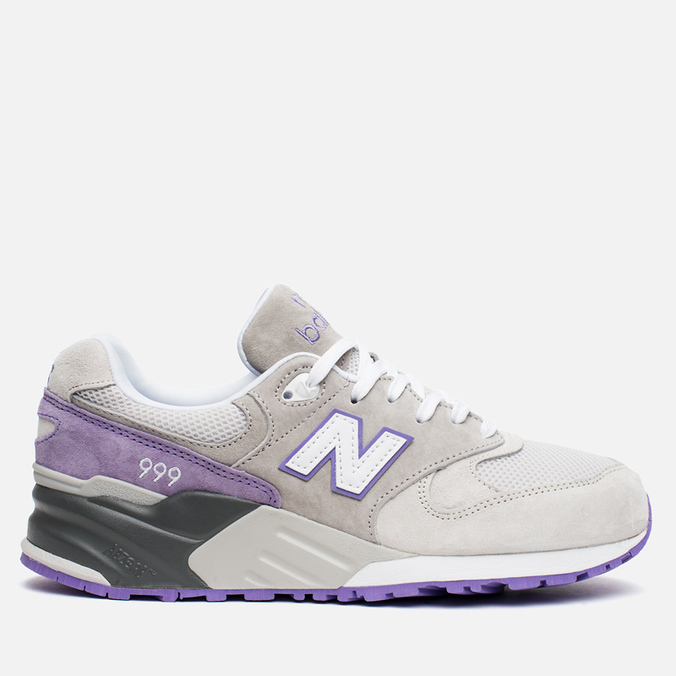 Мужские кроссовки New Balance ML999AA Light Grey/Lavender/Purple