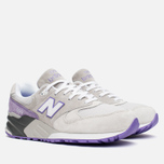 Мужские кроссовки New Balance ML999AA Light Grey/Lavender/Purple фото- 1
