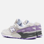 Мужские кроссовки New Balance ML999AA Light Grey/Lavender/Purple фото- 2