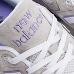 Мужские кроссовки New Balance ML999AA Light Grey/Lavender/Purple фото- 6