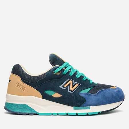Мужские кроссовки New Balance x Social Status CM1600SS Winter in the Hamptons Blue/Green