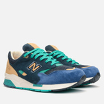 Мужские кроссовки New Balance x Social Status CM1600SS Winter in the Hamptons Blue/Green фото- 1