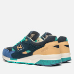 Мужские кроссовки New Balance x Social Status CM1600SS Winter in the Hamptons Blue/Green фото- 2