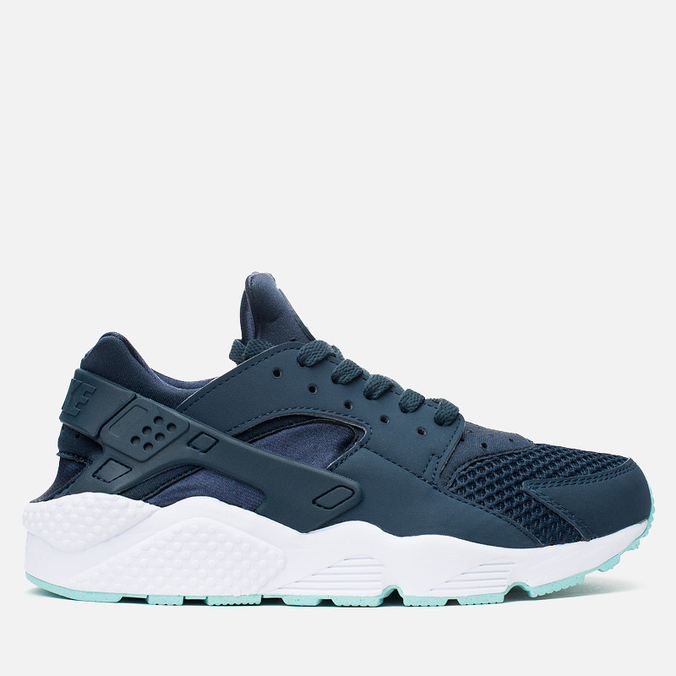 Мужские кроссовки Nike Air Huarache Armoury Navy/White/Island Green