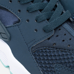 Мужские кроссовки Nike Air Huarache Armoury Navy/White/Island Green фото- 5
