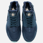Мужские кроссовки Nike Air Huarache Armoury Navy/White/Island Green фото- 4