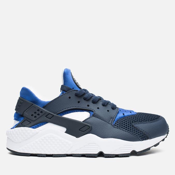 Мужские кроссовки Nike Air Huarache Midnight Navy/Lyon Blue