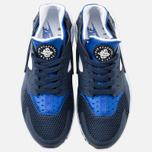 Мужские кроссовки Nike Air Huarache Midnight Navy/Lyon Blue фото- 4