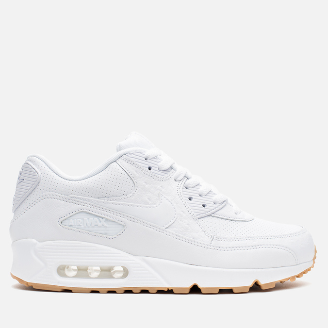Мужские кроссовки Nike Air Max 90 Leather PA White/Gum Light Brown
