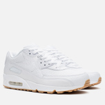 Мужские кроссовки Nike Air Max 90 Leather PA White/Gum Light Brown фото- 1