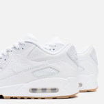 Мужские кроссовки Nike Air Max 90 Leather PA White/Gum Light Brown фото- 5