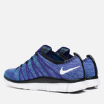 Мужские кроссовки Nike Free Flyknit NSW Court Purple/White/Blue фото- 2