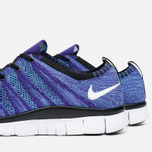 Мужские кроссовки Nike Free Flyknit NSW Court Purple/White/Blue фото- 7