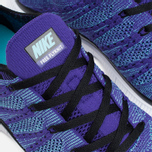 Мужские кроссовки Nike Free Flyknit NSW Court Purple/White/Blue фото- 6