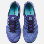 Мужские кроссовки Nike Free Flyknit NSW Court Purple/White/Blue фото- 4