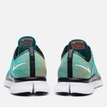 Мужские кроссовки Nike Free Flyknit NSW Hyper Jade/White фото- 3