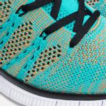 Мужские кроссовки Nike Free Flyknit NSW Hyper Jade/White фото- 7