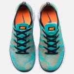 Мужские кроссовки Nike Free Flyknit NSW Hyper Jade/White фото- 4