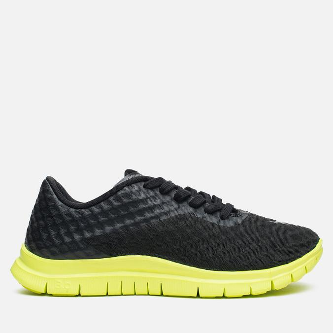 Мужские кроссовки Nike Free Hypervenom Low Black/Volt