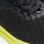 Мужские кроссовки Nike Free Hypervenom Low Black/Volt фото- 5