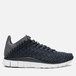 Мужские кроссовки Nike Free Inneva Woven Anthracite/White/Dark Grey фото- 0