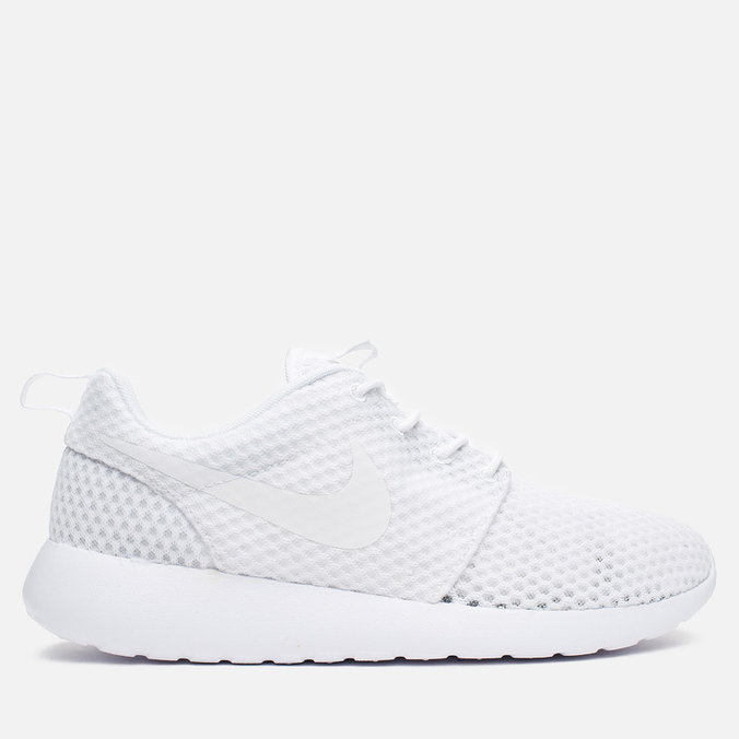 Мужские кроссовки Nike Roshe One BR White/Wolf Grey