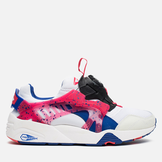 Мужские кроссовки Puma Disc Blaze Coastal White/Mazarine Blue