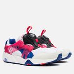 Puma Disc Blaze Coastal Men's Sneakers White/Mazarine Blue photo- 1