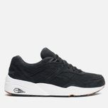 Кроссовки Puma R698 Perforated Pack Black/Whisper White фото- 0
