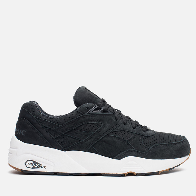 Кроссовки Puma R698 Perforated Pack Black/Whisper White