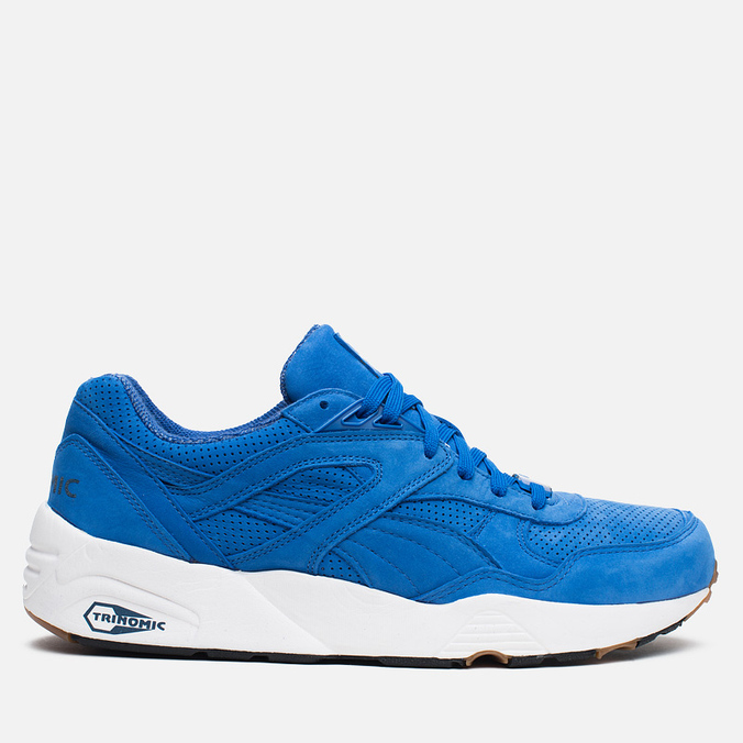Puma R698 Perforated Pack Sneakers Strong Blue/Whisper White