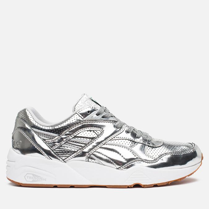 Кроссовки Puma x Alife R698 Trinomic Silver/White