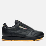 Кроссовки Reebok Classic Leather Tiger Camo Black/Oatmeal/Warm Olive фото- 0