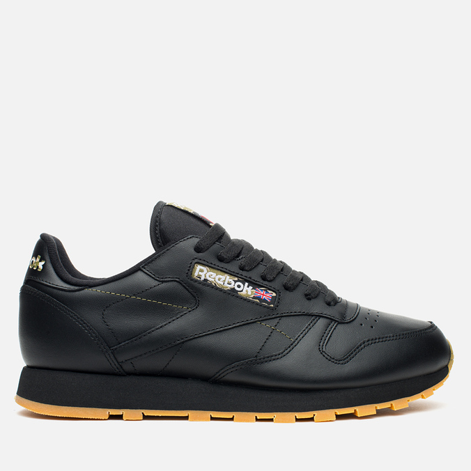 Кроссовки Reebok Classic Leather Tiger Camo Black/Oatmeal/Warm Olive
