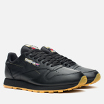 Кроссовки Reebok Classic Leather Tiger Camo Black/Oatmeal/Warm Olive фото- 1