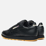 Кроссовки Reebok Classic Leather Tiger Camo Black/Oatmeal/Warm Olive фото- 2